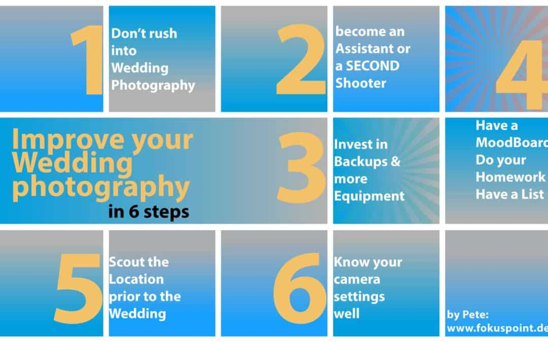 Wedding photography: beginners guide
