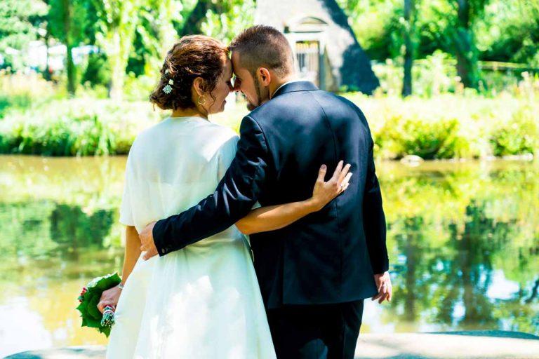 Brautpaarshooting im Staatspark Wilhelmsbad in hanau