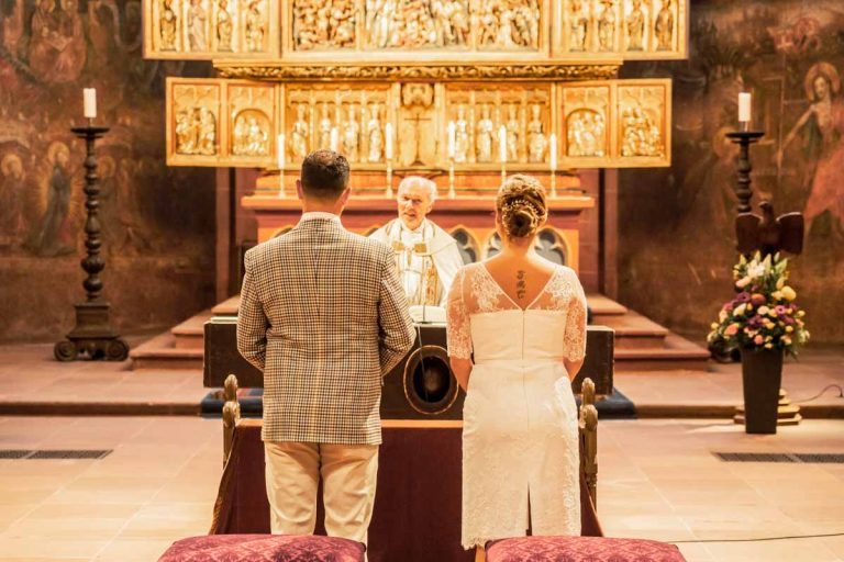 Kirchliche Trauung Frankfurter Dom