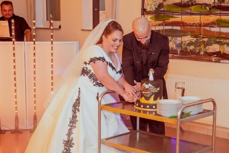Hochzeitsfeier in Weinheim