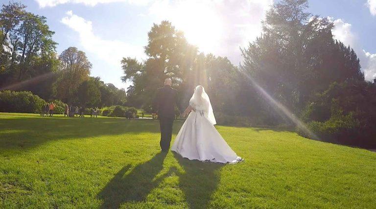 Video vom Brautpaarshooting Schlosspark Weinheim